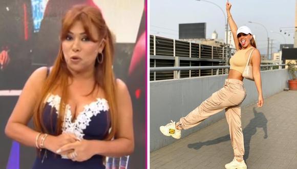 Magaly Medina cuestionó a Yahaira Plasencia y Sergio George por la falta de un nuevo disco. (Foto: Instagram @yahairaplasencia / Captura ATV)