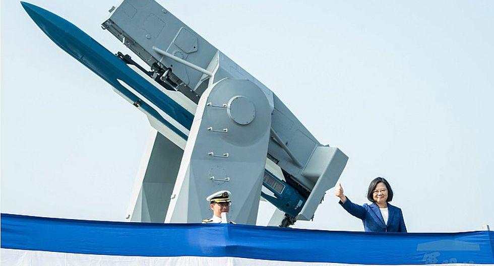 Taiwán adquiere 45 barcos con misiles en EE.UU. para reforzarse ante China