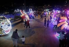 El alumbrado navideño de Medellín propone un luminoso viaje por Colombia (FOTOS)