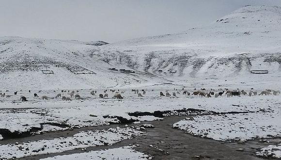 Nevadas se prolongan hasta el 16 de setiembre en Arequipa