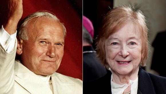 """Revelan que Juan Pablo II tuvo una """"intensa"""" relación con una filósofa casada"""