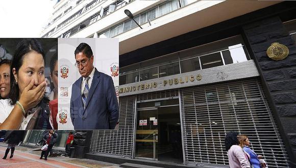 Fiscal José Domingo Pérez interroga a ex juez César Hinostroza por caso Cócteles