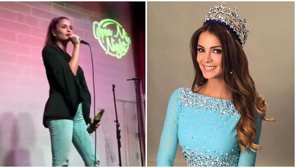 Laura Spoya: ex Miss Perú sorprende por su nueva faceta como comediante (VIDEO)