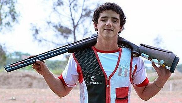A un paso del podio: Alessandro de Souza quedó cuarto en Tiro