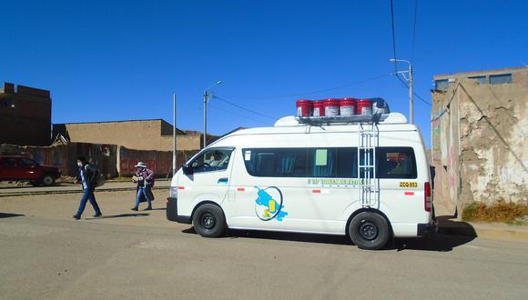 Se reanudó el servicio de transporte interprovincial entre Juliaca y Ayaviri