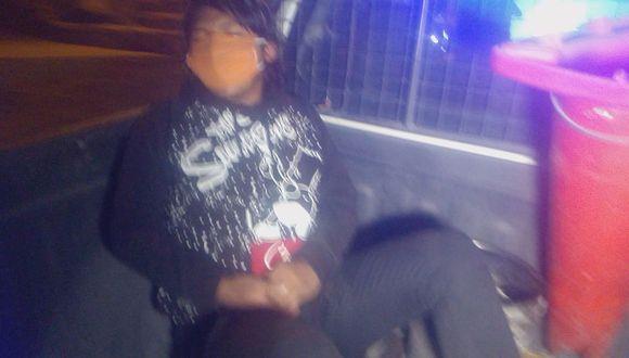 Intervienen a sujeto acusado de robar accesorios de motos en Juliaca