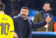 """Gennaro Gattuso """"A Lionel Messi solo se le puede parar en la PlayStation"""" (VIDEO)"""