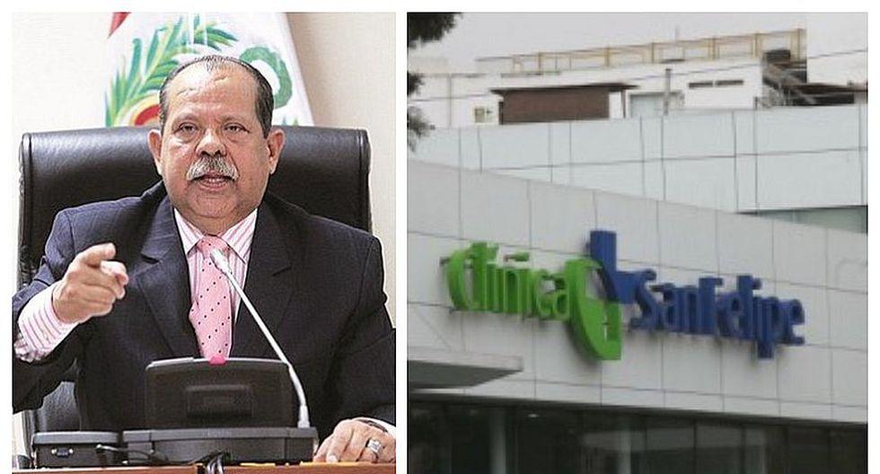 Octavio Salazar permanece internado en unidad de cuidados intensivos de clínica