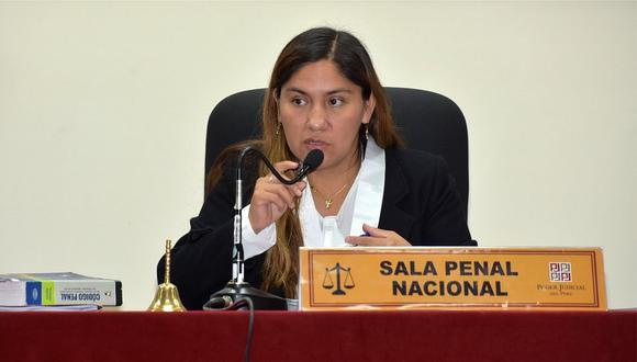 Jueza Elizabeth Arias será la reemplazante de Richard Concepción Carhuancho en caso 'Cócteles'