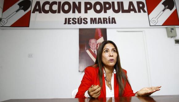 """Mónica Saavedra Ocharán: """"Tenderemos puentes con FP y Frepap"""". (Foto: Allen Quintana/ El Comercio)"""