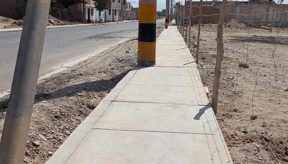 Denuncian obras mal ejecutadas en el distrito de Santiago.