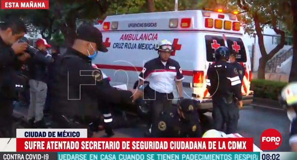 Autoridades reportan fallecidos y varios detenidos tras el atentado al jefe de seguridad de Ciudad de México, Omar García Harfuch. (Captura de video/YouTube).