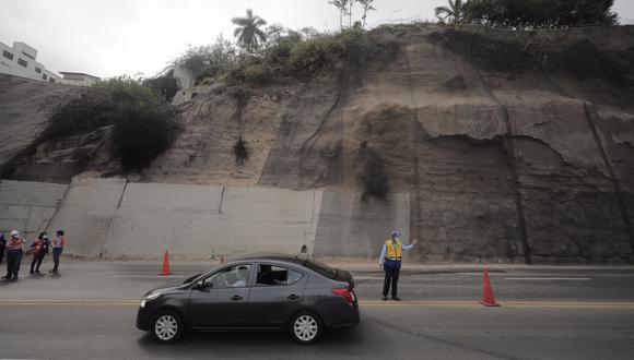 La gerente de gestión de Riesgo de Desastres de la Municipalidad de Lima informó que posiblemente la zona se libere el miércoles por la noche. (Foto: Leandro Britto / GEC)