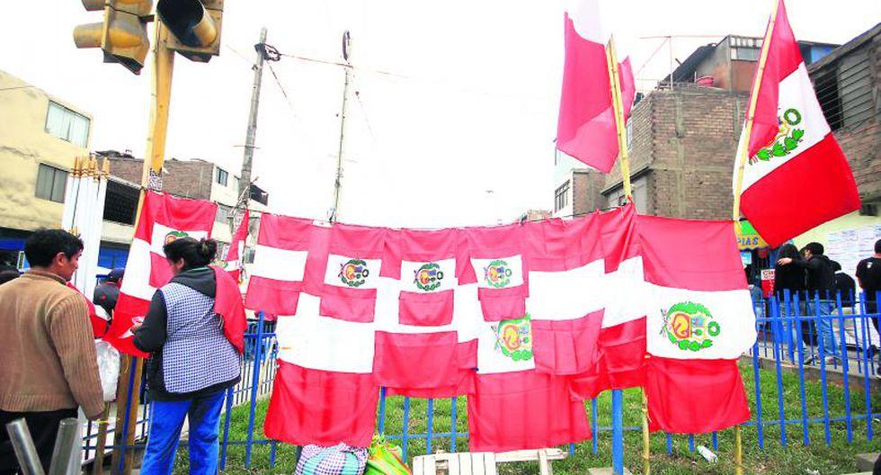 Fiestas Patrias: En estos distritos es obligatorio poner banderas