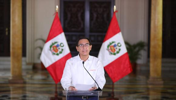 Presidente Martín Vizcarra se disculpa tras difusión de audios (Foto: Presidencia)