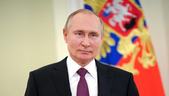 El presidente de Rusia, Vladimir Putin, está altamente protegido para evitar que se contagie del COVID-19. (Foto: Mikhail KLIMENTYEV / Sputnik / AFP)