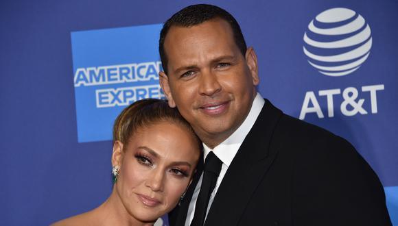 Alex Rodríguez cumple 45 años y Jennifer Lopez le envió romántico mensaje (Foto: AFP)