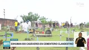 Municipalidad de Iquitos exhuma 800 cadáveres de cementerio clandestino