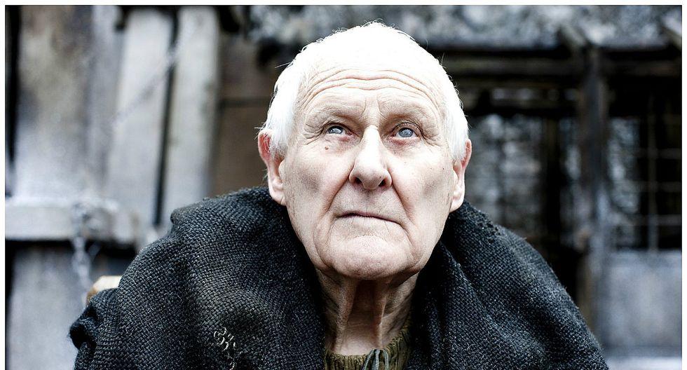 Game of Thrones: Muere a los 93 años Peter Vaughan, el maestre Aemon