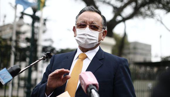 El congresista Edgar Alarcón reiteró que no ha cometido ningún acto ilícito tras las denuncias presentadas en su contra por la fiscalía. (Foto: GEC)