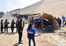 Ica: Desalojan a invasores de dunas en Subtanjalla