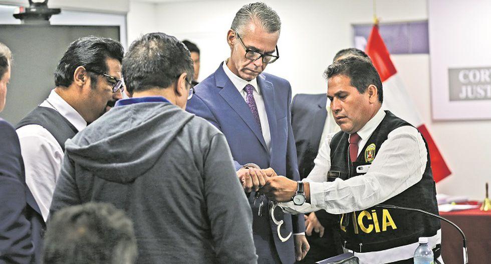 Víctor Albrecht y Juan Sotomayor a prisión preventiva
