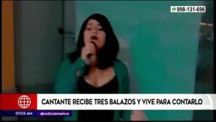 Intento de feminicidio: Cantante de 18 años recibió tres disparos por parte de un sujeto obsesionado con ella