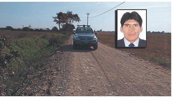"""""""Marcas"""" asaltan a agricultor, lo golpean y roban 12 mil soles en Lambayeque"""