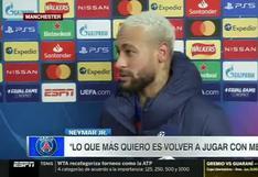 """Neymar sobre la posibilidad de volver a jugar con Lionel Messi: """"Seguro el próximo año"""" (VIDEO)"""