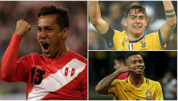 """Renato Tapia dentro de las """"promesas jóvenes"""" de Sudamérica para el Mundial"""
