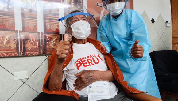 En la primera semana de mayo se iniciará la vacunación de adultos mayores en las provincias cercanas a Cusco. (Foto: Gore Cusco)