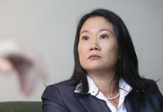 """Keiko Fujimori afirma que el fiscal Pérez """"no tiene nada que sustentar"""" tras audiencia de suspensión de FP"""
