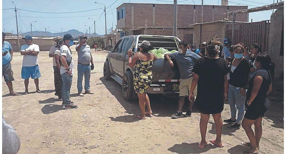 Advierten presunto mal uso de canastas de víveres