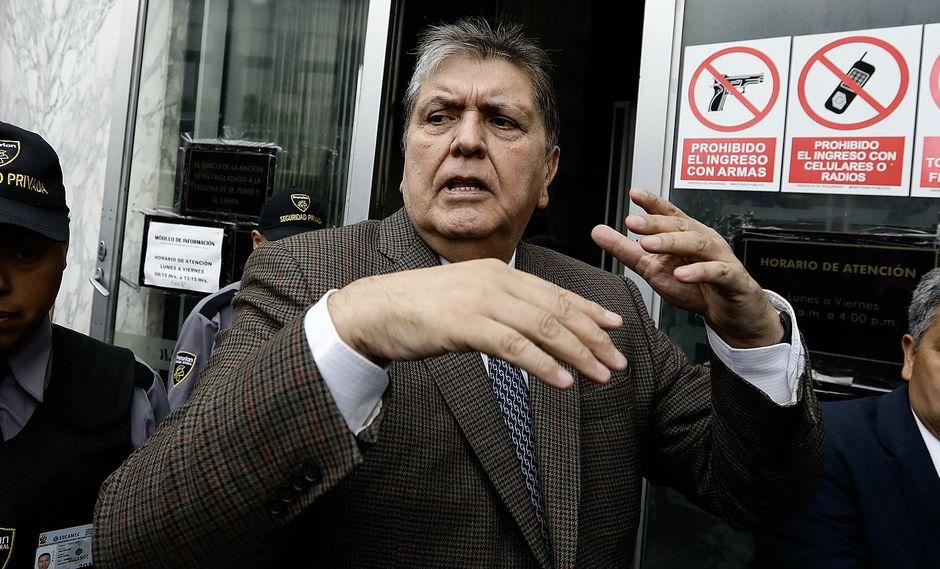 Alan García: Poder Judicial dicta impedimento de salida del país por 18 meses en su contra (VIDEO)