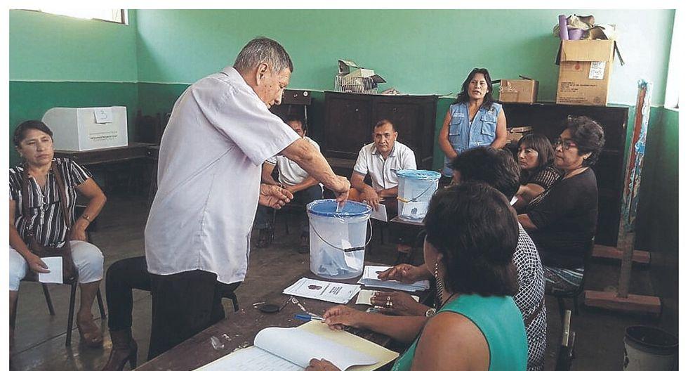Diez centros poblados elegirán a  sus alcaldes