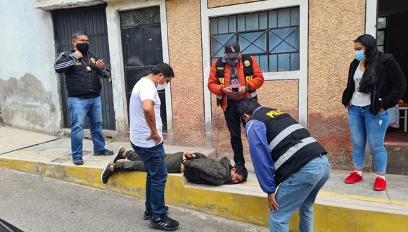 Detienen a presunto autor de robo agravado a menor de edad en Arequipa | Foto: PNP