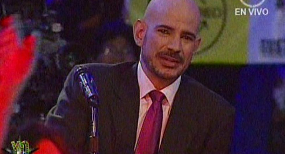 Yo Soy: Ricardo Morán lloró en plena presentación de 'Gustavo Cerati'