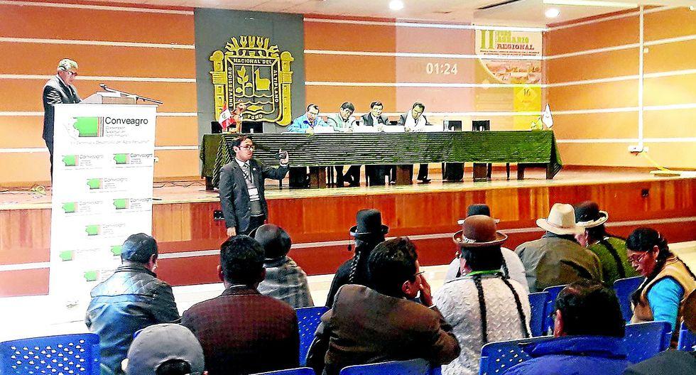 Candidatos a la región de Puno le dan la espalda al sector agrario