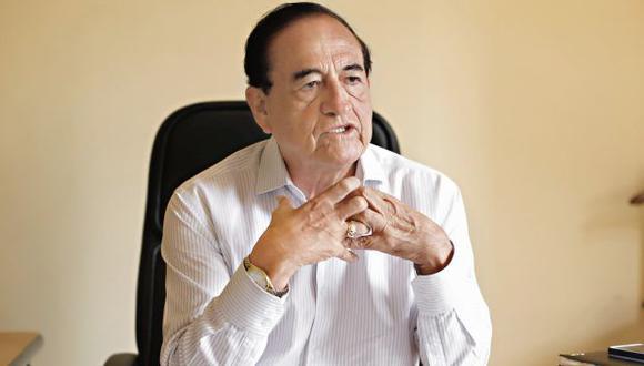 Áureo Zegarra anunció la decisión de Todos por el Perú de retirarse del proceso electoral. (Foto: GEC)