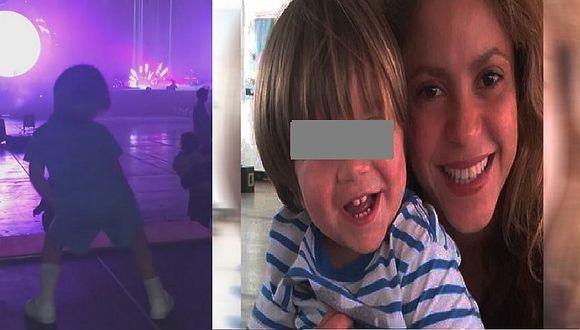 Shakira: Su hijo Sasha la imita y enternece las redes sociales (VIDEO)