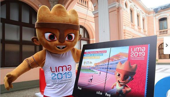 Panamericanos Lima 2019: Estadio Atlético y mascota se lucen en estampillas (FOTOS)