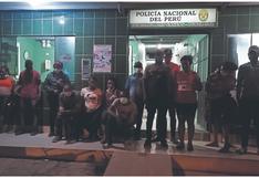 Agentes intervienen a 12 extranjeros ilegales en Canoas de Punta Sal, en Tumbes
