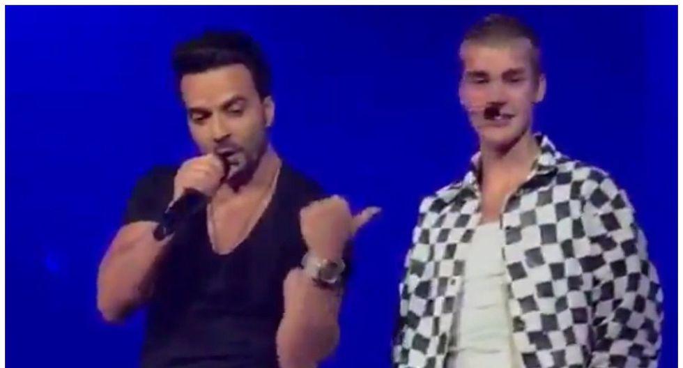 'Despacito': Justin Bieber y Luis fonsi la cantan en concierto pero todo terminó así (VIDEO)