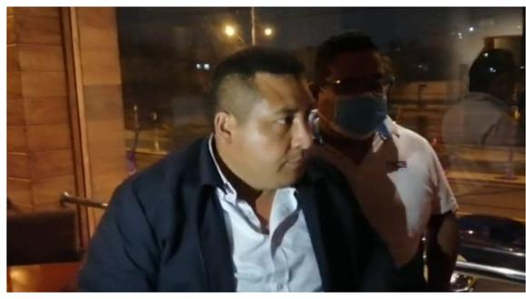 El alcalde provincial de Trujillo dijo que en ningún momento fue intervenido y que solo estaba cenando con sus colegas de Laredo y Víctor Larco.