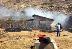 Cusco: menor de tres años fallece en incendio por fuga de gas en su vivienda