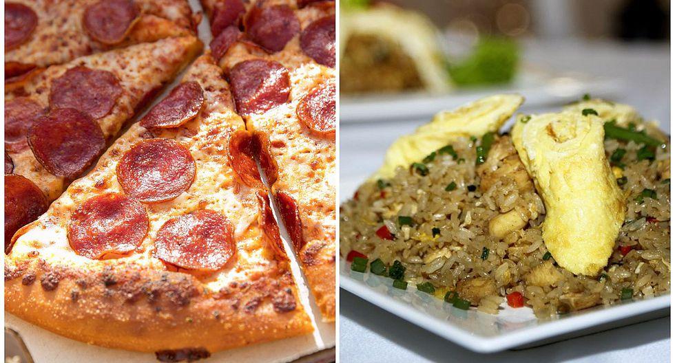 Limeños prefieren consumir pizza antes que arroz chaufa fuera de casa, según INEI