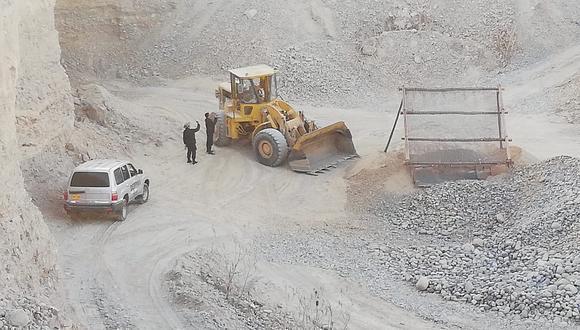 Decomisan maquinaria valorizada en S/ 1 millón usada para minería ilegal