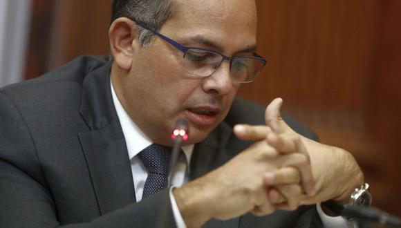 Luis Miguel Castilla expuso sus alegatos de defensa en la audiencia de apelación. (Foto: GEC)