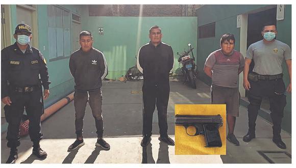 Los atrapan luego de una tenaz persecución en la vía Chiclayo - Ferreñafe, pues pretendieron fugar de las autoridades.