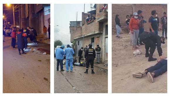 Muertos ha dejado la presencia de sicarios en Ayacucho